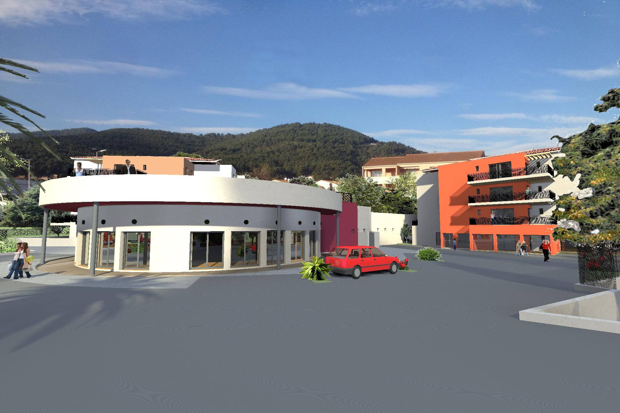Appartement studio 33 m avec terrasse la farl de var solli s ville - Studio appartement m ...