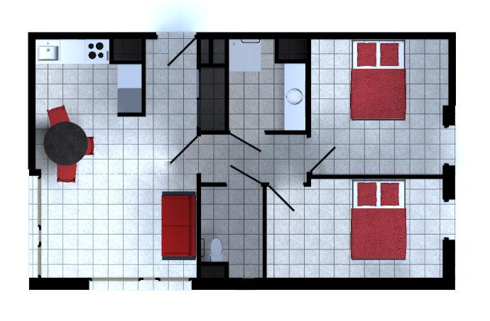 appartement t3 résidence senior la farlède